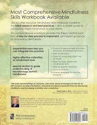 mindfulness skills workbook for clinicians u0026 clients 111 tools