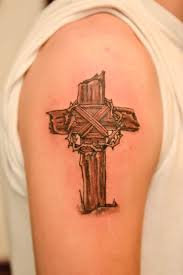 wooden cross tattoos pictures to pin on pinterest tattooskid