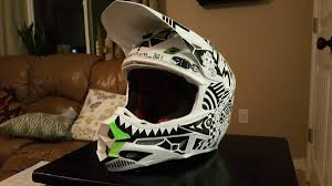 custom motocross helmet sharpie custom helmet moto related motocross forums message