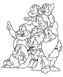 7 dwarf coloring u2026 pinteres u2026