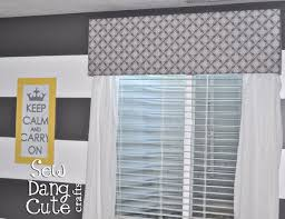 How To Make Window Cornice Diy Cornice No Sew Fabric Valance For Breakfast Nook U2013 Day