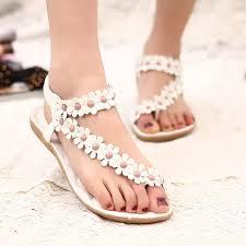 Comfort Sandals For Ladies Aliexpress Com Buy Women Shoes Flat Sandals Comfort Sandals
