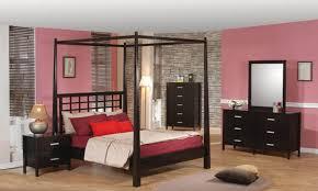 Beautiful Black Canopy Bedroom Set Photos Decorating House - Black canopy bedroom furniture sets