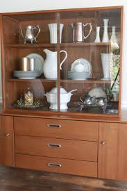 our new hutch and staging a mid century piece all things new