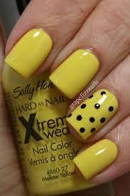 40 yellow nail art ideas yellow nail art yellow nail polish and