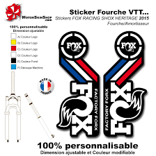 fox motocross stickers sticker fourche fox 2015 france heritage