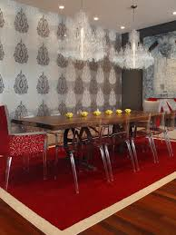 Red Dining Room Ideas Unique Leather Furniture Ideas Orangearts Contemporary Living Room