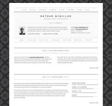 Best One Page Resume by 50 Professional Html Resume Templates Web U0026 Graphic Design
