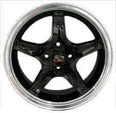 Black Wheels For Mustang Deep Dish Black Wheels Toyo Tires Fit Ford Mustang 17x8 Cobra Style