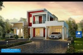 modern house plans green