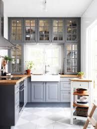 Ikea Kitchen Cabinet Construction A Gray And White Ikea Kitchen Transformation Quartz Countertops