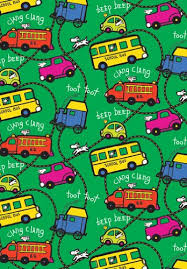 cars wrapping paper freeway cars school truck gift wrapping roll 24 x