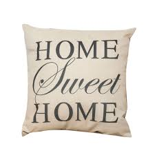 aliexpress com buy 44 44cm home sweet home pattern square