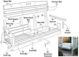 Free Woodworking Plans For Garden Furniture by Best 25 Porch Swing Frame Ideas On Pinterest Swinging Wife A