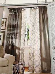 livingroom cafe layered curtains pottery barn pintail landing pl decorating