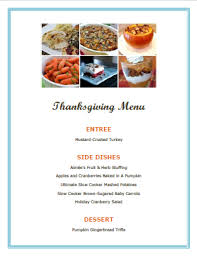 thanksgiving menu ideas hoosier