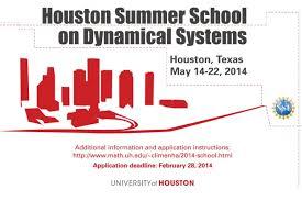 houston summer on dynamical systems math alliance the