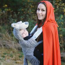 Riding Costumes Halloween Mommy Baby Red Riding Hood Wolf Costume Halloween