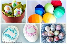 decorative easter eggs easy and ways to decorate easter eggs holidays