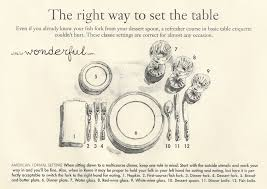 how do you set a table properly table setting tips a little bit wonderful