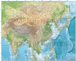 africa e asia mappa digital vector africa political map 10 000 000 scale in