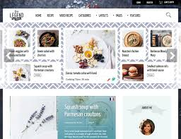 Colors That Look Good With Green 30 Best Food Wordpress Themes For Sharing Recipes 2017 Athemes