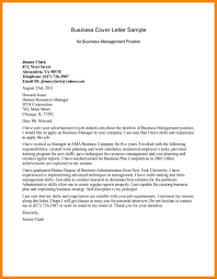 cover letter examples for management positions cover letter guidelines