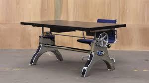 delightful crank desk 1 vintage industrial thefancyteacup com