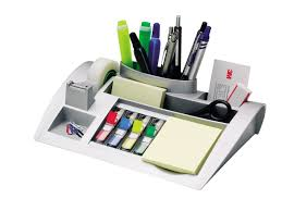 Revolving Desk Organizer by Amazon Com Mmmc50 Post It Notes Dispenser With Weighted Base