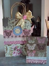 Shabby Chic Gift Bags by 56 Best Altered Paper Bags Images On Pinterest Cards Paper And