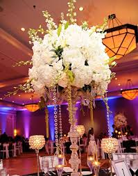 Reception Centerpieces Bling Wedding Reception Decorations
