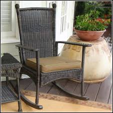 Outdoor Patio Rocking Chairs Outdoor Wicker Rocking Chairs Chair Home Furniture Ideas