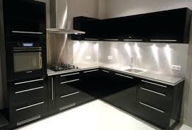 cuisine laqué noir cuisine laquee mobilier services plus pose de cuisine