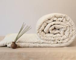 Wool Filled Duvet Organic Wool Batting Etsy Uk