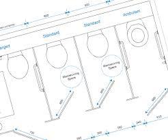 size of toilet beautiful wc dimensions standard ideas joshkrajcik us
