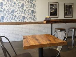 reclaimed wood dining table nyc best reclaimed wood ny brooklyn hillbilly picture of dining table