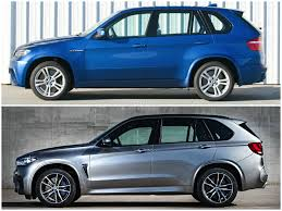 Bmw X5 50d M - photo comparison 2015 bmw x5 m vs the original autoevolution