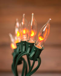 our flickering flame string lights dance into the holiday season