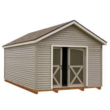 foundation included wood sheds sheds the home depot