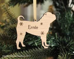 personalised shar pei decoration shar pei tree