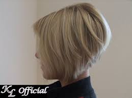 pictures of back of hair short bobs with bangs short angled bob hairstyles back view for fine hair medium with