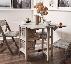 Alice Gateleg Storage Table Pottery Barn - Gateleg kitchen table