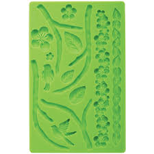 Overstock Bakers Rack Fondant And Gum Paste Silicone Mold Nature Free Shipping On