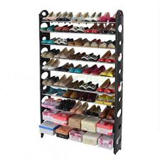 Shoe Shelves For Wall New Home 12 Pairs Shoe Organizer Storage Holder Under Bed Closet