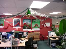 i showed you some christmas decorations inside my work earlier