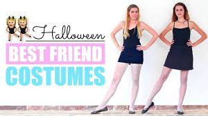 halloween costumes for best friends emmi and sara youtube