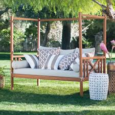 belham living brighton outdoor daybed and ottoman natural