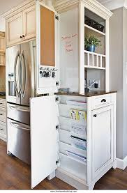 kitchen message center ideas what a clever cabinet command center mail and paperwork station