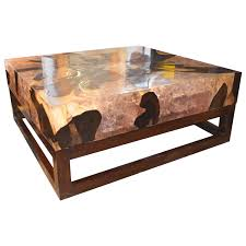 modern cocktail tables cracked resin coffee table for sale at 1stdibs