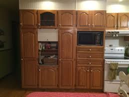 peinture d armoire de cuisine armoire cuisine en chêne